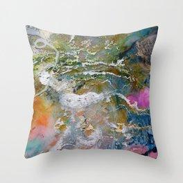 cosmic 6 Throw Pillow