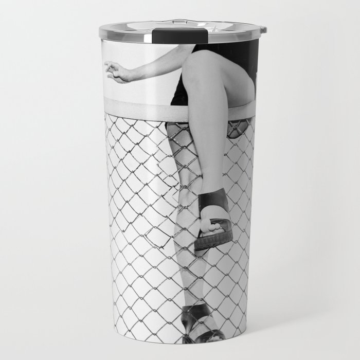 Hoping Fences Travel Mug