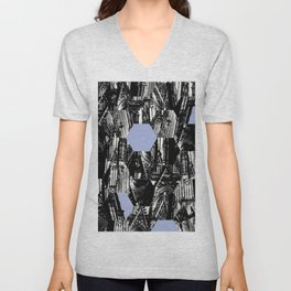 Koln Church Abstract Unisex V-Neck