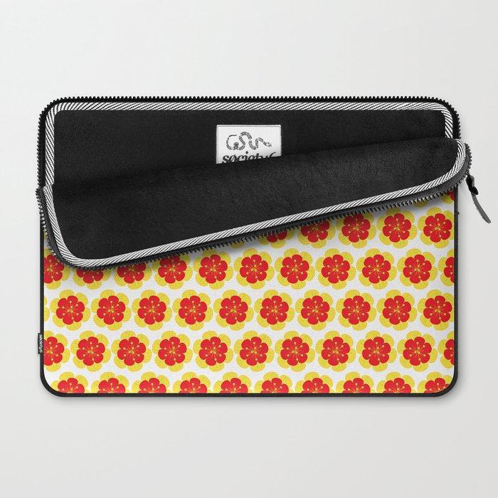 Bright Spring Floral Laptop Sleeve