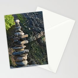 Zen Stones in Southwest Alentejo Stationery Cards