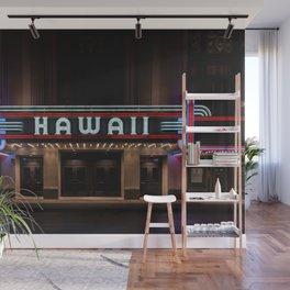 Hawaii Theater Wall Mural