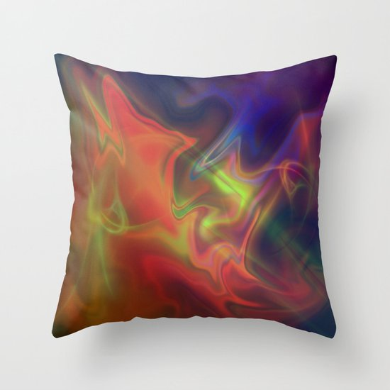 stunning colorful shades Throw Pillow