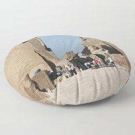 Temple of Luxor, no. 12 Floor Pillow