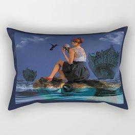 Commute  Rectangular Pillow