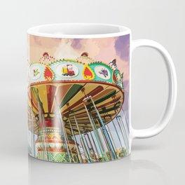Carnival Swing Watercolor Coffee Mug