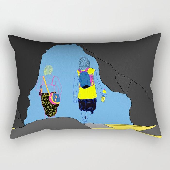 Amor Arrastrado Rectangular Pillow
