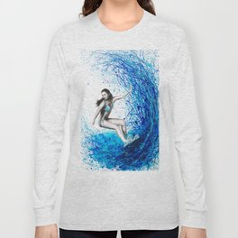 Thoughts and Waves Long Sleeve T-shirt
