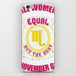 Best-Women-Born-On-November-01-Scorpio---Sao-chép iPhone Skin