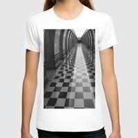 moscow T-shirts featuring Moscow Metra by Kim Ramage