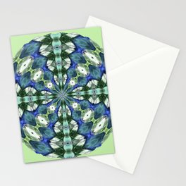 314 - Abstract Orb design Stationery Cards
