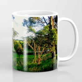 Evening light, Country Farmlands Coffee Mug