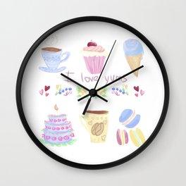 Yums Wall Clock