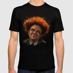Steve Brule LARGE Mens Fitted Tee Black