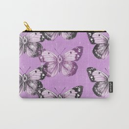 Butterfly - purple Carry-All Pouch