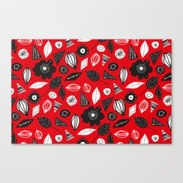 red mess Canvas Print