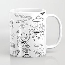 Inktober 2017 Coffee Mug