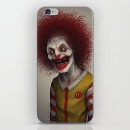 Ronald McDonald iPhone Skin