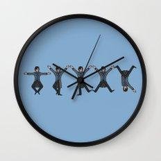 Dancing Sherlock Wall Clock