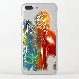 Ao Haru Ride Clear iPhone Case