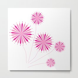 Amazing flowers Metal Print