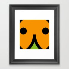 face 7 Framed Art Print