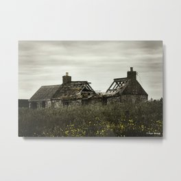 Busted Roof Metal Print