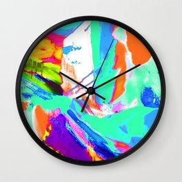 Art Attack 2 Wall Clock