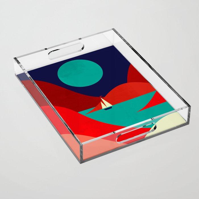 Inlet Acrylic Tray