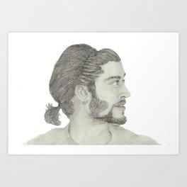 Zayn Malik Art Print