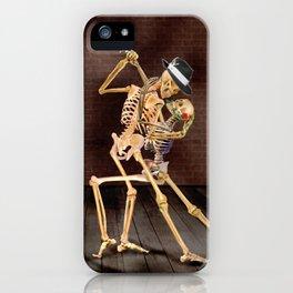 Dancing Skeletons iPhone Case