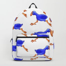 Running Pukeko - Swamp hen Backpack