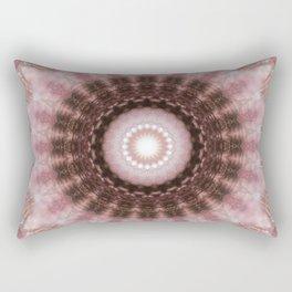 Mandala gentle blush Rectangular Pillow