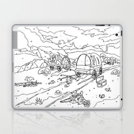 Wagon Trail Paint-By-Number Laptop & iPad Skin