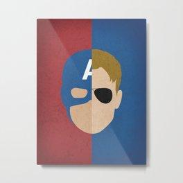 Captain Rogers Metal Print