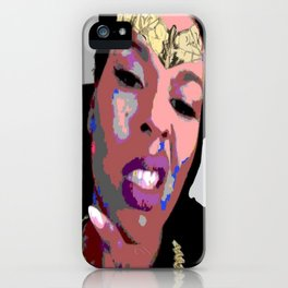 Melanin Warrior iPhone Case