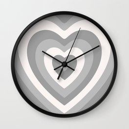 Off Color Heartbeat Wall Clock