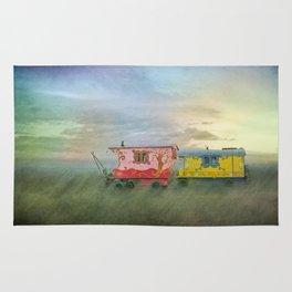 gypsy caravans Rug