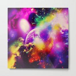 Space fun v Metal Print