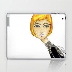 Green-Eyed Girl Laptop & iPad Skin