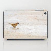 sparrow iPad Cases featuring sparrow by Marcel Derweduwen