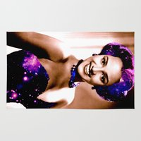 dorothy Area & Throw Rugs featuring Dorothy dandridge by PureVintageLove