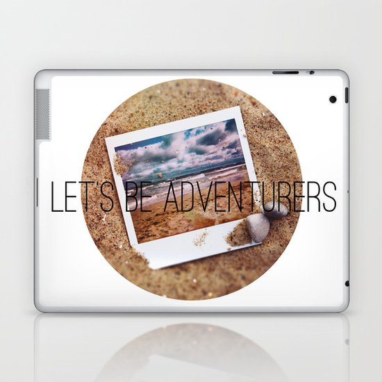 the beach Laptop & iPad Skin