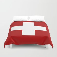 Swiss Cross Duvet Cover