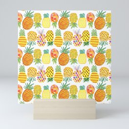 Pineapple Lineup Mini Art Print