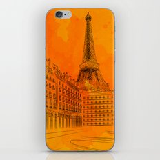 Parisian Sunsets iPhone & iPod Skin