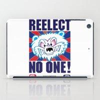 politics iPad Cases featuring Polar Bear Politics by Clore Concepts Chucks Stuff