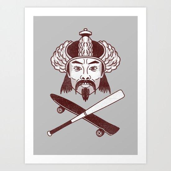 Bob Khan Art Print