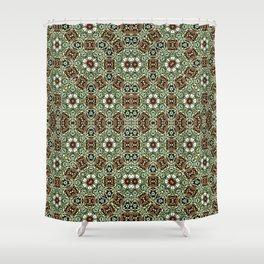 Oriental Pattern 8 Shower Curtain