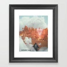 170127 / HUD.INITIATIVE 2033 Framed Art Print